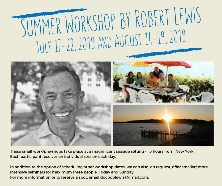 201907 Summer Workshop by Robert Lewis