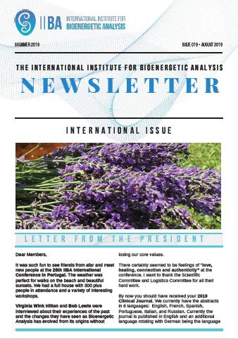 Newsletter- Summer 2019 [EN]