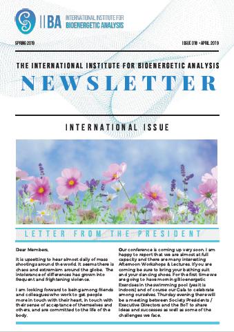 Newsletter- Spring 2019 [EN]
