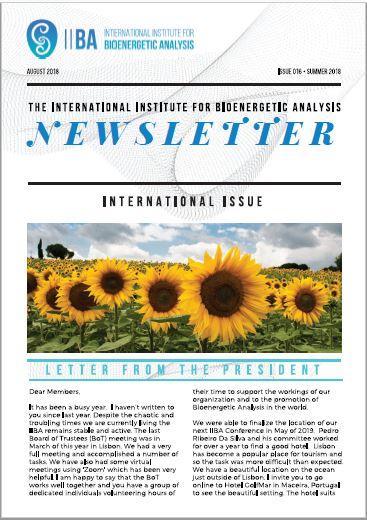 Newsletter- Summer 2018 [EN]