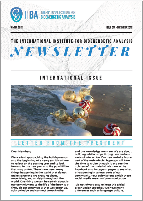 Newsletter- Winter 2018 [EN]