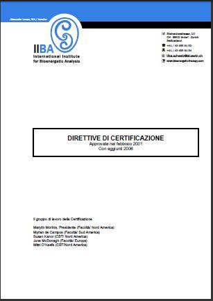 Direttive di Certificazione