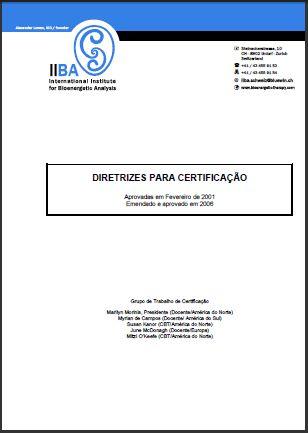 Diretrizes para certificacaõ